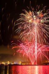 Beautiful Louisville (geminivision) Tags: sky night river fireworks louisville july4th independenceday priya swapna vamsi ravuru