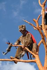 Jaguar Tree Maya Mexico (Ilhuicamina) Tags: trees mexico arbol maya fiestas mexican jaguar chiapas tigre bolom