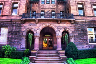 Strong Mansion ~ Administration Entrance ~ Gannon University ~ Erie Pa ~ Historical