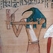 Hunefer's Book of the Dead, detail with Thoth (close)