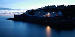 IMG_8273 (Bill16STN) Tags: sea sky lights cornwall harbour dusk porthleven theshipinn