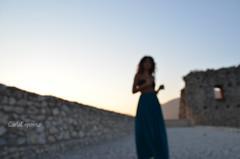 messa a fuoco? anche no! (carlaespositoo) Tags: light sunset woman girl set photo donna nikon portait sunny castello luce fuoco maf photoshooting avellino modella avella irpinia nikond5100