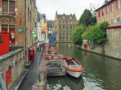 Bruges, Belgium  2013 (Tony Tomlin) Tags: history belgium canals bruges 2013 2013hollandamericacruise