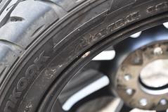 DSC_0361 (Blazedd) Tags: black color flat wheels racing 45 16 rays custom rims 42 matte jdm volk 215 blk blazed hankook ce28n ce28 16x7 blazedd 2154516