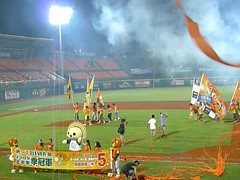 P1000748 (celeste_mer) Tags: 棒球 台南棒球場 2009年