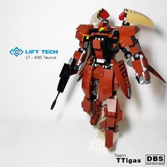 LT - 495 Taurus (Commander626) Tags: lego hard suit combat federation mech atlast