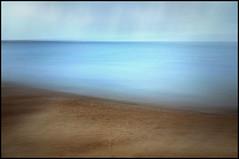 Beach #3 (Simon Ashmore) Tags: blue blur beach kent fuji icm dreamscape seasalter intentionalcameramovement x100s
