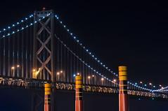 bay tides off the embarcadero (pbo31) Tags: sanfrancisco california bridge urban black color night dark spring nikon may baybridge embarcadero 80 southbeach 2014 d90