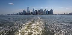New York. View from Hudson River (Oleg.A) Tags: hudsonriver usa newyork manhattan megalopolis