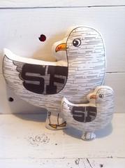 Seagull Plush Pillow Toys