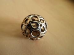My First Metallic 3D Print (fdecomite) Tags: metal print 3d jewelry math povray hamiltonian shapeways