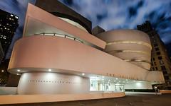 Guggenheim Museum (dansshots) Tags: newyorkcity longexposure nightphotography museum nikon nightshot guggenheimmuseum newyorkatnight nikond3 dansshots