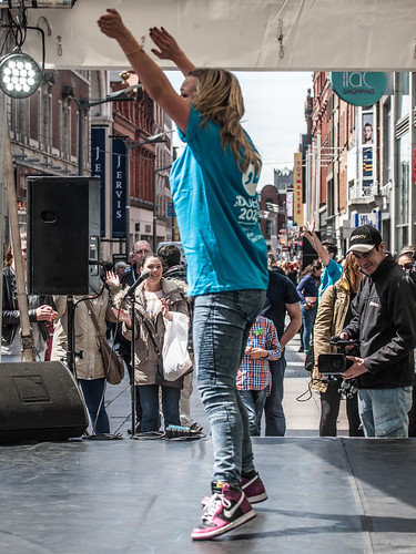The Dance Party on Henry Street, Thursday 21st May, Midday-8pm REF-104278