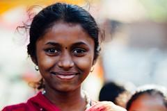 Desi Girl (AdamCohn) Tags: india adam girl smile desi bindi cohn adamcohn wwwadamcohncom badapokharan