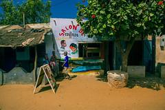 FQ9A6084 (gaujourfrancoise) Tags: africa portraits shops colored senegal coloré afrique boutiques traders nianing tradespeople commercants gaujour naïvepaintingspeinturesnaïves dibiteries