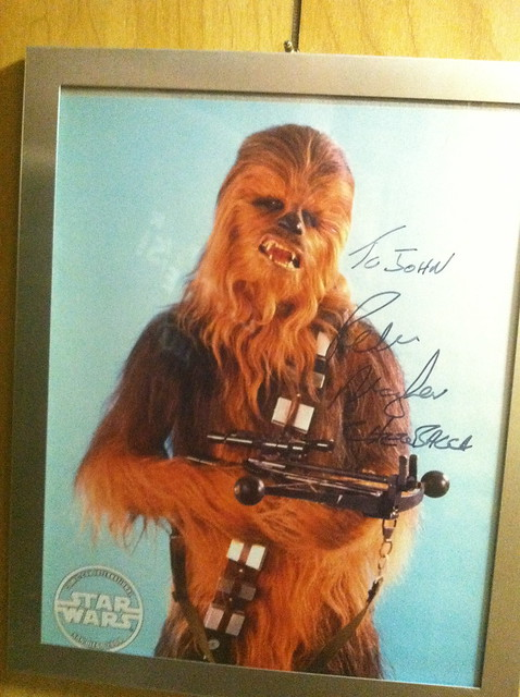 Star Wars Autograph #14 - Peter Mayhew