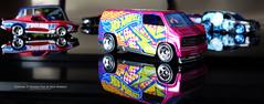 Custom '77 Dodge Van (AreKev) Tags: hotwheels hwart custom 77dodgevan 1977 dodgervan dodge van diecast car motorvehicle vehicle macro glass reflections sonydscrx100 sony dscrx100 rx100 cybershot sonycybershot hmm 164scale