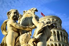neraly Pisa (il ' aria) Tags: statua pisa piza toscana tuscany bellaitalia italia monumentiitalia monumentiitaliani vivalitalia torre torrepisa torredipisa torrependente pendente