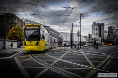 ManchesterVictoria2016.10.09-21 (Robert Mann MA Photography) Tags: manchester manchestervictoria manchestercitycentre greatermanchester england victoria victoriastation manchestervictoriastation manchestervictoriarailstation victoriarailstation city cities citycentre architecture summer 2016 sunday 9thoctober2016 manchestermetrolink metrolink trams tram nightscape nightscapes night light lighttrails