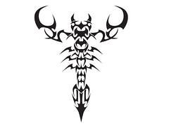 Freie Zodiac-Skorpion Und Skorpion Tattoo-Design (tattooideen) Tags: freie skorpion tattoodesign zodiacskorpion