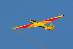 Lunak Aerobatic Glider (Glenn.B) Tags: aerobaticglider ck0927 glider lf107 letov lunak oldwarden sailplane shuttleworth