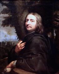 IMG_2535M 1602-1674. Paris.  Portrait de l'artiste.  Portrait of the artist. 1668. Bruxelles. (jean louis mazieres) Tags: peintres peintures painting muse museum museo philippedechampaigne