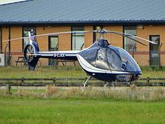 G-CJEK Guimbal Cabri G2 (SteveDHall) Tags: gcjek guimbal cabri g2 guimbalcabrig2 cabrig2 guimbalcabri helicopter aircraft airport aviation airfield aerodrome generalaviation ga blackpool blackpoolairport 2016