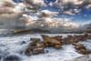 Mare d'inverno (*Ciccio*) Tags: mare inverno erice scogli onde schiuma nuvole cielo