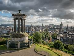 Scotland - Edinburgh (viaggiatore16) Tags: edinburgh scotland travel travelphotography gb olympus olympusomd unitedkingdom cityscape wanderlust panoramicview abigfave