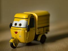 Cars movie character - #m43turkiye (Ciddi Biri) Tags: penepl3 vivitar55mmf28 car carsmovie oyuncak toy vehicle zabawki macro bokeh dof m43tukiye mirrorless m43aynasz