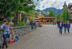 Whistler Walkabout (Philip Kuntz) Tags: britishcolumbia canada whistler artists painters walkabout