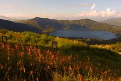 Laguna (omarnez) Tags: laguna nature mountains landscape sunset