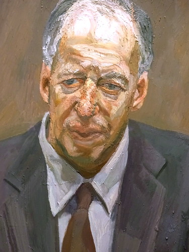 (Detail) - Jacob Rothschild, 4th Baron Rothschild ('Man in a Chair') (1989)