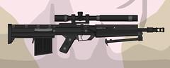 Rose Shadow II (Steve Zerker  ValkyrianThunder) Tags: rifle 338 rose shadow pimp gun pmg custom heavy dmr sniper