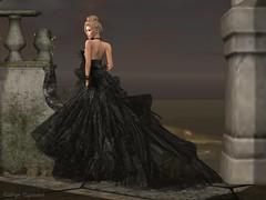 Better in a Black Dress (Kat the Desert Girl) Tags: secondlife fabulouslyfreeinsl maitreya catwa glamaffair ikon truthhair louloucompany kastlerockcouture laboheme invictus blackwidowhunt2