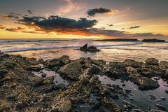 KAREKARE BEACH (sibijohn photography) Tags: karekarebeach auckland newzealand seascape sunset