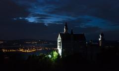 Schlo Neuschwanstein (Myanoli) Tags: schloss neuschwanstein nacht night bayern bavaria castle canon 70d