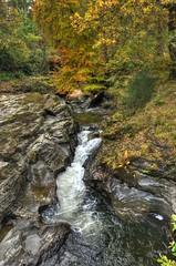 The Falls of Edinample, Loch Earn, Scotland (Baz Richardson (catching up again!)) Tags: scotland lochearnfallsofedinample waterfalls woods burnofample