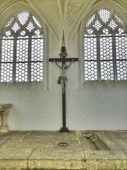 Kapelle Zum Heiligen Kreuz / Görlitz (YvoLoz) Tags: kapelle görlitz heiliggrabanlage inri kreuz