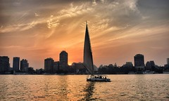 Sunset on the Nile (Nadia Rifaat) Tags: sunset nile river felucca sail boat cairo egypt outdoor sailing nikon d5300 18140mm