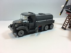 IMG_7220 (nelsoma84) Tags: cckw gmc f3 fuel truck usaaf aviation allies gasoline avgas lego