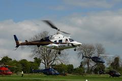 N153H Bell 222 (eigjb) Tags: irish helicopter punchestown racin festival racecourse ireland kildare april 2007 aircraft aviation plane spotting rotary n153h bell b222 bell222 eiddb n9133d n407wd