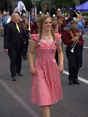 On Parade (swong95765) Tags: parade people costume band march marching braids marchingbraves