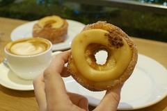 Butterscotch Cronut (BeardedBakery) Tags: cronut