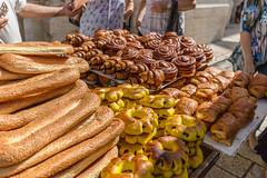 Street boulangerie in Jerusalem (davidthegray) Tags: patisserie boulangerie street jerusalem croissant breakfast israel chocolat bread arab pain