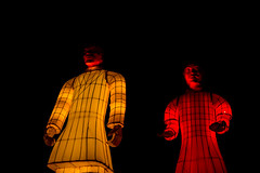 The Lanterns of Terracotta Warriors (Jori Samonen) Tags: lantern terracotta warrior army china chinese background kamppi helsinki finland nikon d3200 180550 mm f3556 dark