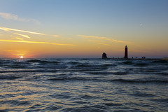 "Lake Michigan Sunset • <a style=""font-size:0.8em;"" href=""http://www.flickr.com/photos/29084014@N02/30883802805/"" target=""_blank"">View on Flickr</a>"