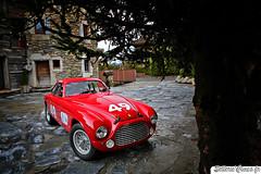 Ferrari 166 MM (Sellerie'Cimes) Tags: ferrari 166 mm lesfermesdemarie 166mm megeve louisvuitton millemiglia