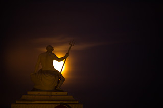 Neptune Watches the Moonrise