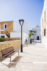 Formentera, Spain (Naomi Rahim (thanks for 3 million visits)) Tags: formentera ibiza spain españa europe europa balearicislands summer mediterranean travel nikon nikond7200 wanderlust architecture siesta travelphotography white buildings streetphotography street santfrancescxavier town village empty lonely lamp light bluesky shadow santfrancescdeformentera
